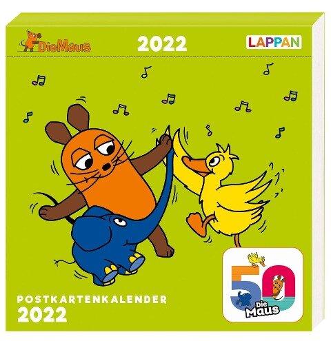 Der Kalender mit der Maus - Postkartenkalender 2022 -