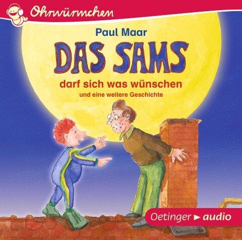 Das Sams darf sich was wünschen und eine weitere Geschichte (CD) - Paul Maar, Kay Poppe