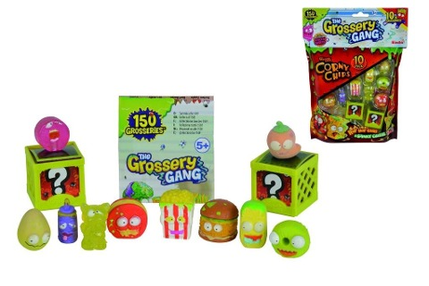 The Grossery Gang Sammelfiguren 10-Pack, Serie 1 -