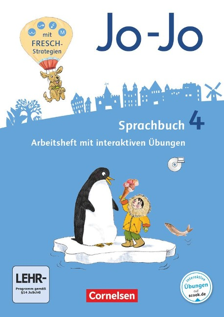Jo-Jo Sprachbuch 4. Schuljahr - Allgemeine Ausgabe - Arbeitsheft - Frido Brunold, Sandra Meeh, Henriette Naumann-Harms, Rita Stanzel