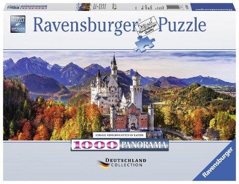 Schloss Neuschwanstein - Puzzle mit 1000 Teilen -
