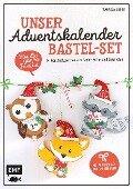 Unser Adventskalender Bastel-Set - Für die ganze Familie - Franziska Kühne