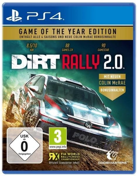 DiRT Rally 2.0 GOTY (PlayStation PS4) -
