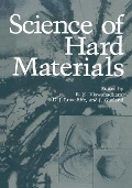 Science of Hard Materials -