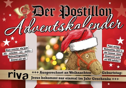 Der Postillon Adventskalender - Stefan Sichermann