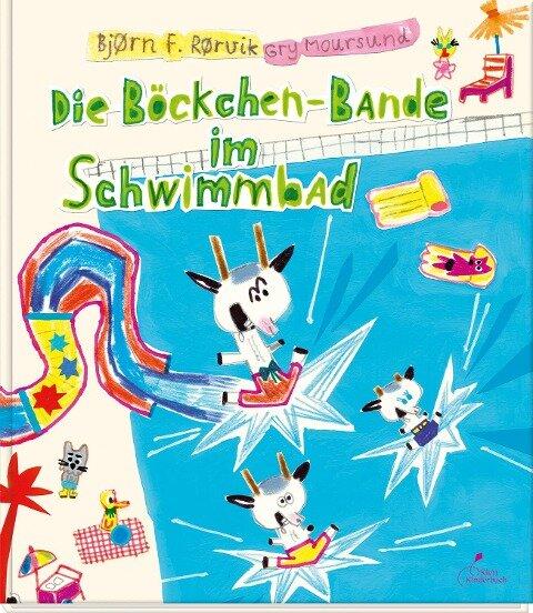 Die Böckchen-Bande im Schwimmbad