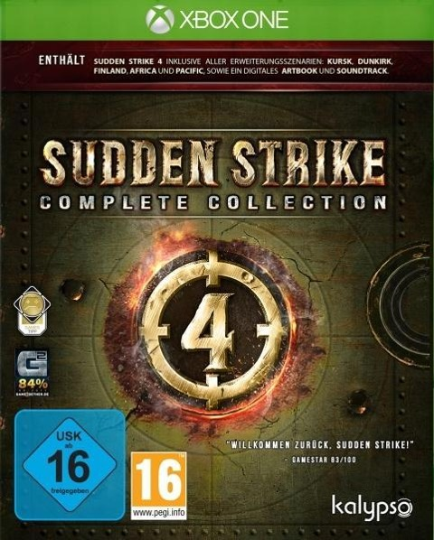 Sudden Strike 4: Complete Collection (XBox ONE) -