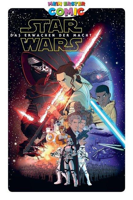 Mein erster Comic: Star Wars - Das Erwachen der Macht - Alessandro Ferrari, Alessandro Pastrovicchio, Matteo Piana