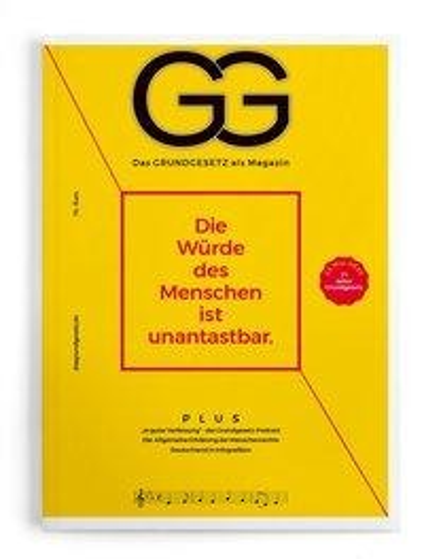 Das Grundgesetz als Magazin - Ausgabe 2020 -