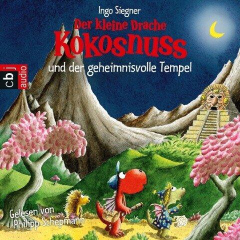 Der kleine Drache Kokosnuss und der geheimnisvolle Tempel - Ingo Siegner