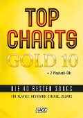 Top Charts Gold 10 mit 2 Playback CDs -
