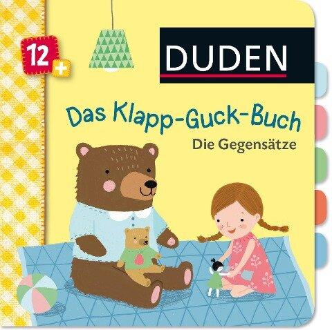 Duden 12+: Das Klapp-Guck-Buch: Die Gegensätze - Susanne Weber