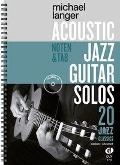 Acoustic Jazz Guitar Solos - Michael Langer