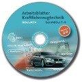 Arbeitsblätter Kraftfahrzeugtechnik interaktiv Lernfelder 1-4 - Einzellizenz - Richard Fischer, Bernd Schlögl, Alois Wimmer, Hans Graßl, Tobias Gscheidle