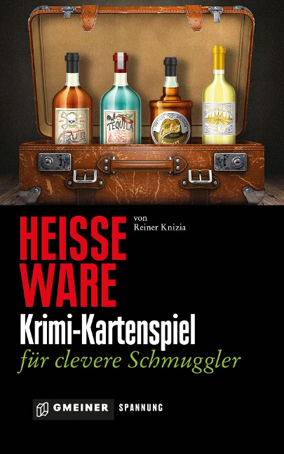 Heiße Ware - Krimi-Kartenspiel für clevere Schmuggler - Reiner Knizia