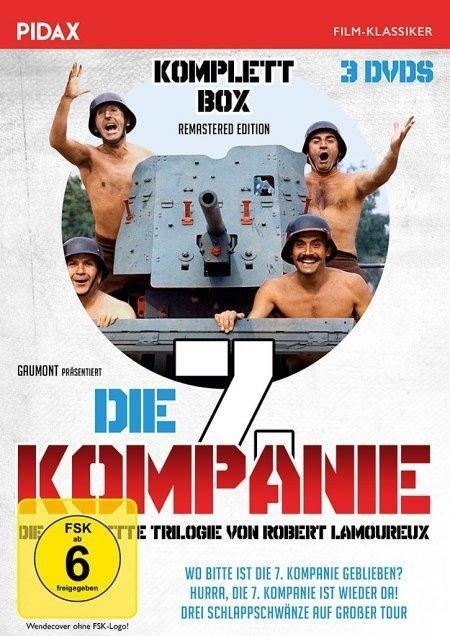 Die 7. Kompanie - Komplettbox -