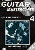 Guitar Masterclass Band 04 - Miro Parol, Pitti Piatkowski, Michael Morenga