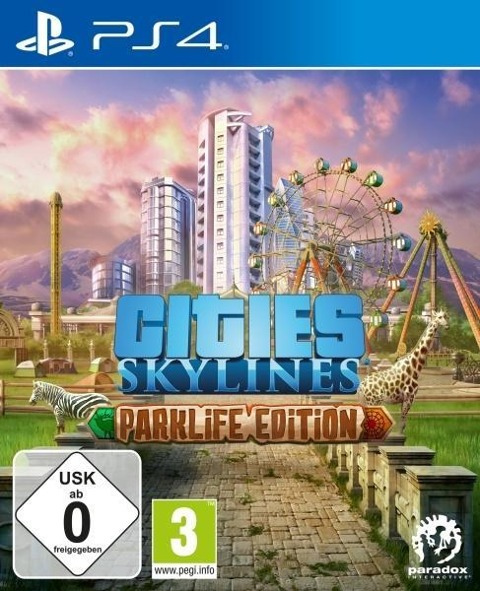 Cities: Skylines - Parklife Edition (PlayStation PS4) -