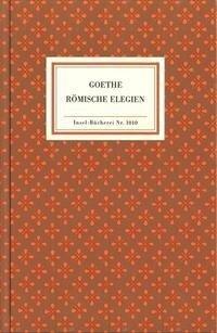 Römische Elegien - Johann Wolfgang von Goethe