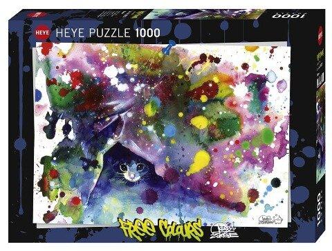 Meow Puzzle 1000 Teile - Lora Zombie