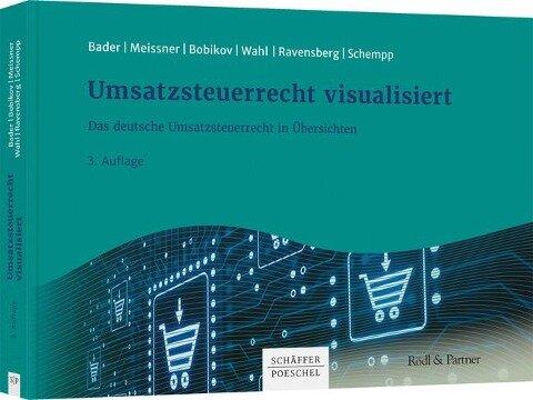 Umsatzsteuerrecht visualisiert - Julia Bader, Gabi Meissner, Marina Bobikov, Andreas Wahl, Stefanie Ravensberg