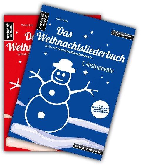 Das Weihnachtsliederbuch-Set (C-Instrumente + Klavierbegleitung) - Michael Koch
