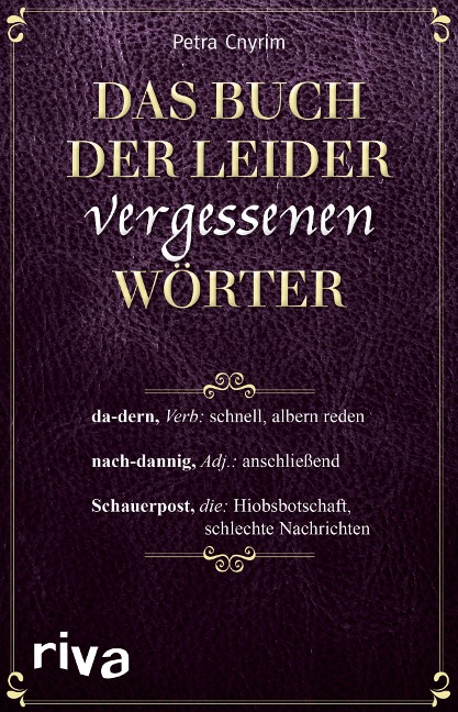 Das Buch der leider vergessenen Wörter - Petra Cnyrim