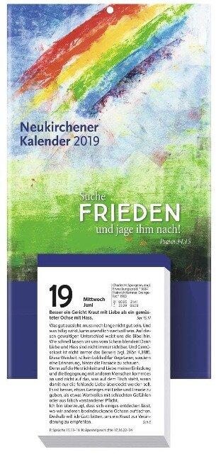 Neukirchener Kalender 2019. Abreißkalender -