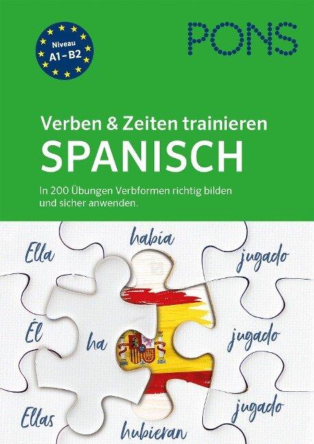 PONS Verben & Zeiten trainieren Spanisch -
