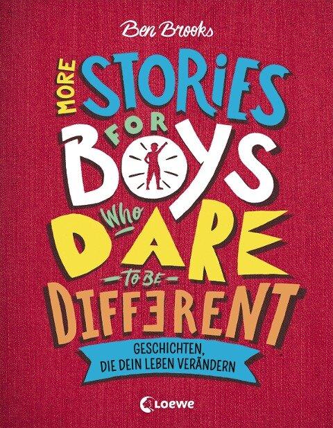 More Stories for Boys Who Dare to be Different - Geschichten, die dein Leben verändern - Ben Brooks
