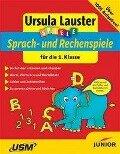 Spiele. Deutsch und Mathematik für die 1. Klasse. CD-ROM für Windows, Mac - Ursula Lauster