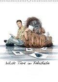 Wilde Tiere in Fotostudio (Wandkalender 2018 DIN A3 hoch) - Werner Dreblow
