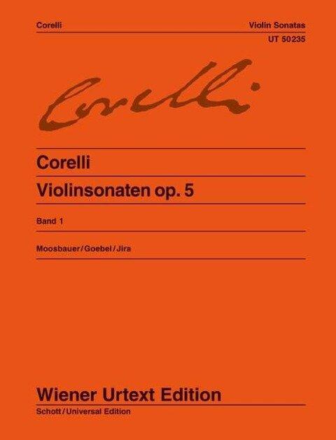 Violinsonaten op. 5 - Arcangelo Corelli