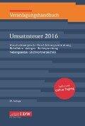 Veranlagungshandbuch Umsatzsteuer 2016 -