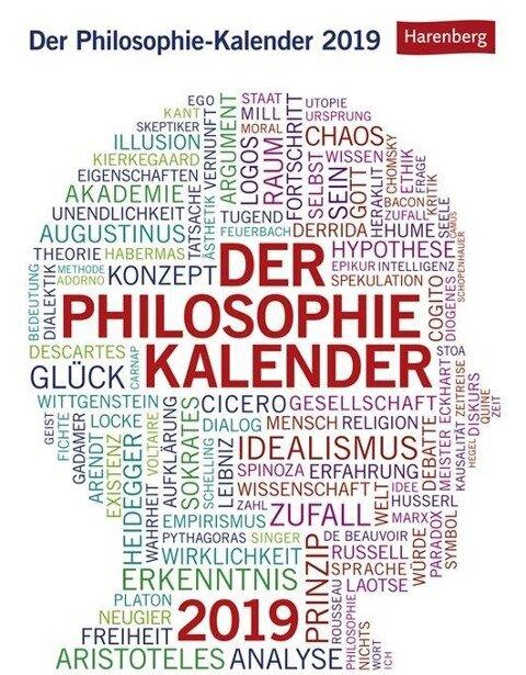 Der Philosophie-Kalender 2019 - Julius Maria Roth, Paul Schulmeister
