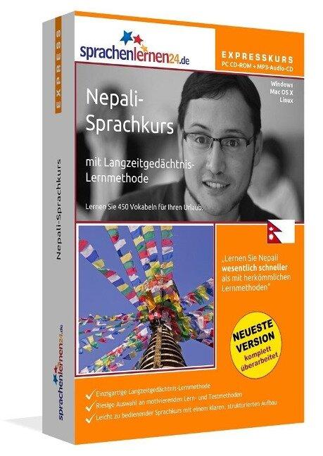 Sprachenlernen24.de Nepali-Express-Sprachkurs. CD-ROM -