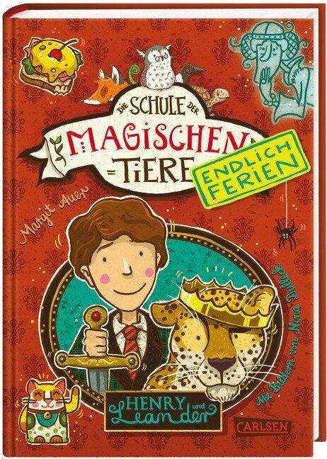 Die Schule der magischen Tiere - Endlich Ferien 3. Henry und Leander - Margit Auer