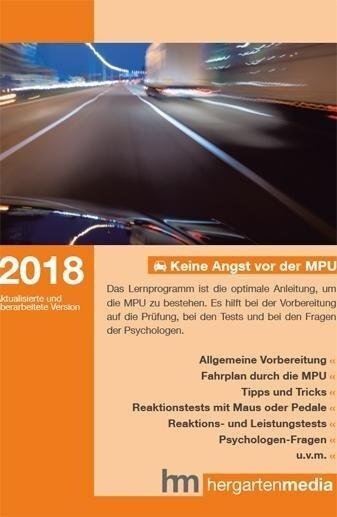 Keine Angst vor der MPU 2018 -