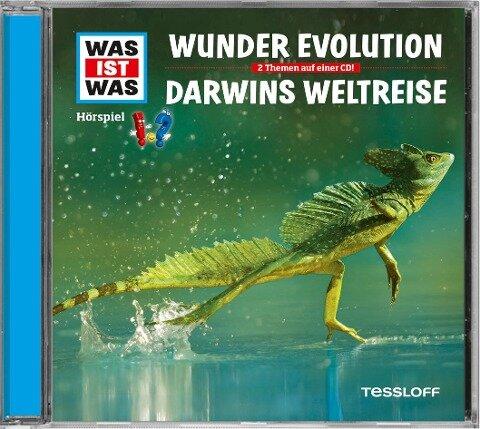WAS IST WAS Hörspiel-CD: Evolution/ Darwins Weltreise - Manfred Baur