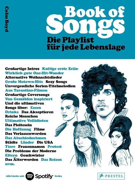 Book of Songs. Die Playlist für jede Lebenslage. Die wahren Geschichten hinter den 500 ultimativen Hits der Popmusik - Colm Boyd