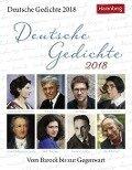 Deutsche Gedichte 2018 -