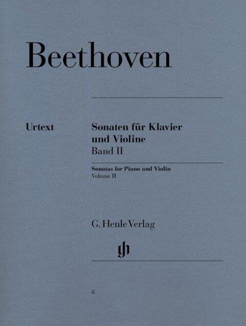 Sonaten für Klavier und Violine, Band II - Ludwig van Beethoven