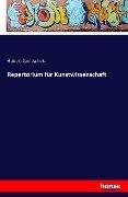 Repertorium für Kunstwissenschaft - Hubert Janitschek