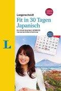 Langenscheidt Fit in 30 Tagen - Japanisch - Sprachkurs für Anfänger und Wiedereinsteiger - Martina Ebi, Yumiko Kato