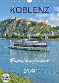 Koblenz Familienplaner (Wandkalender 2017 DIN A4 hoch) - Jutta Heußlein