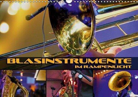 Blasinstrumente im Rampenlicht (Wandkalender 2019 DIN A3 quer) - Renate Bleicher