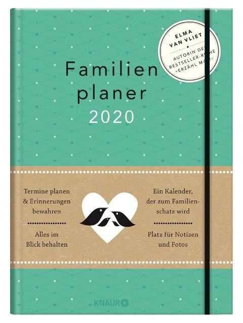 Elma van Vliet Familienplaner 2020 - Elma Van Vliet