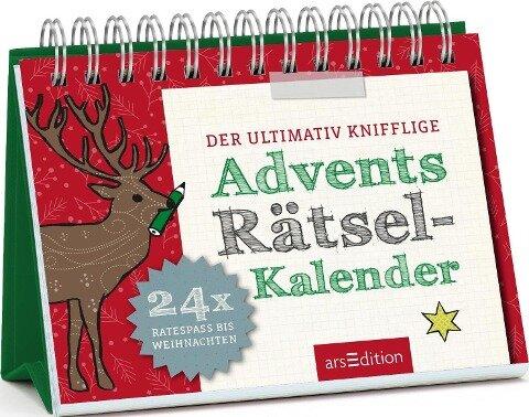 Der ultimativ knifflige Advents-Rätsel-Kalender - Norbert Golluch