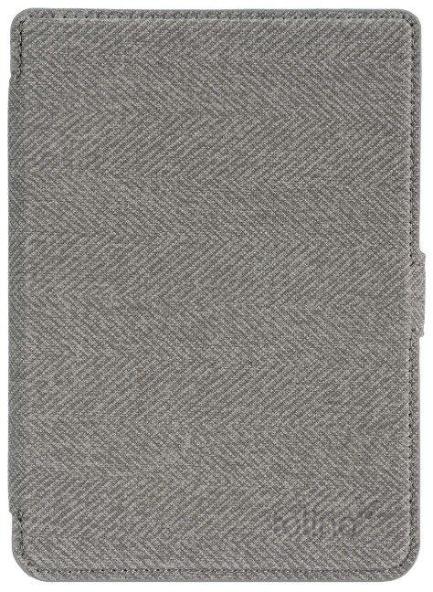 tolino page 2 - Tasche Slim Grau/Rot -