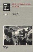 Music and Music Research in Croatia -